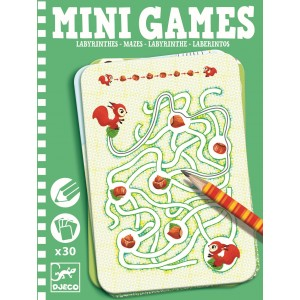 DJECO labirintai MINI GAMES