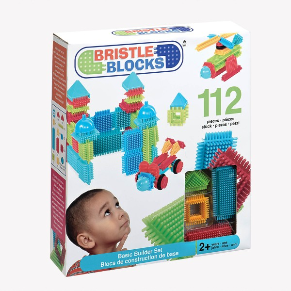 112 Bristle Blocks blokelių Deluxe-3091Z