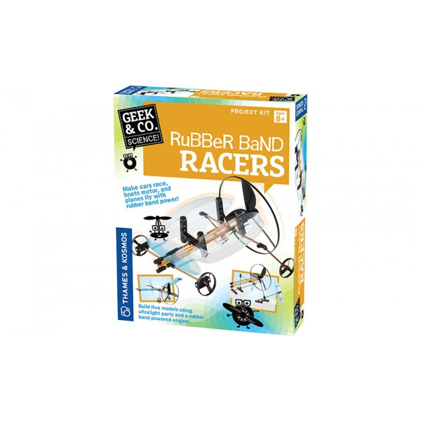 Geek&Co mokslinis rinkinys Rubber Band Racers-KS550020