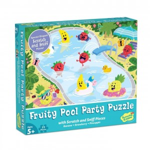 "Dėlionė ""Scratch and Sniff: Fruity Pool Party"""
