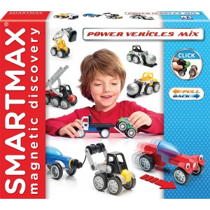"SmartMax magnetinis konstruktorius ""Power Vehicles Mix"""