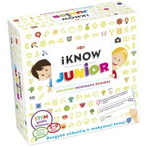 "Tactic žaidimas ""iKNOW Junior"""